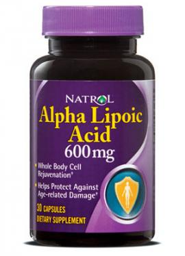 Alpha Lipoic Acid 600 mg 30 caps Natrol