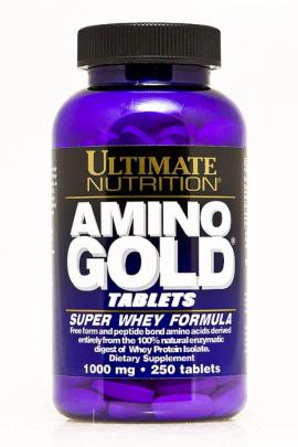 Amino Gold 1000 mg 250 tabs Ultimate Nutrition