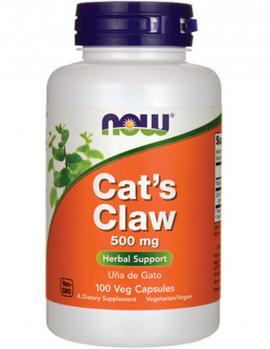 Cats Claw 500 mg 100 caps NOW