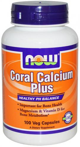 Coral Calcium Plus 100 caps NOW