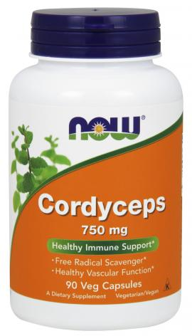 Cordyceps 750 mg NOW
