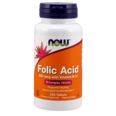 Folic Acid NOW