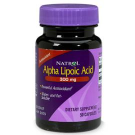 Alpha Lipoic Acid 300 mg 50 caps Natrol