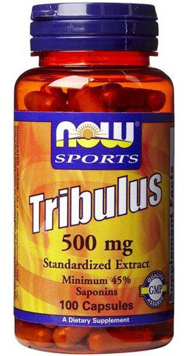 Tribulus 500 mg 100 caps NOW