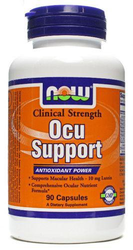 Ocu Support Clinical Strength 90 caps NOW