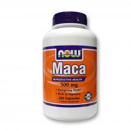 Maca 500 mg  250 caps NOW