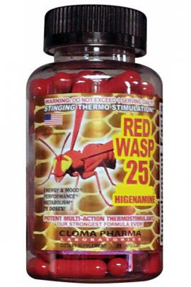 Red Wasp 90 caps Cloma Pharma