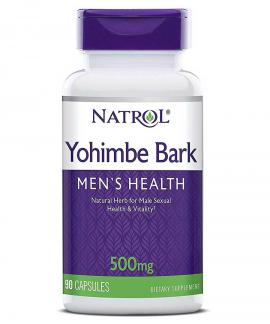 Yohimbe Bark 500mg 90 caps  Natrol